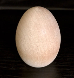Wooden Chicken Egg