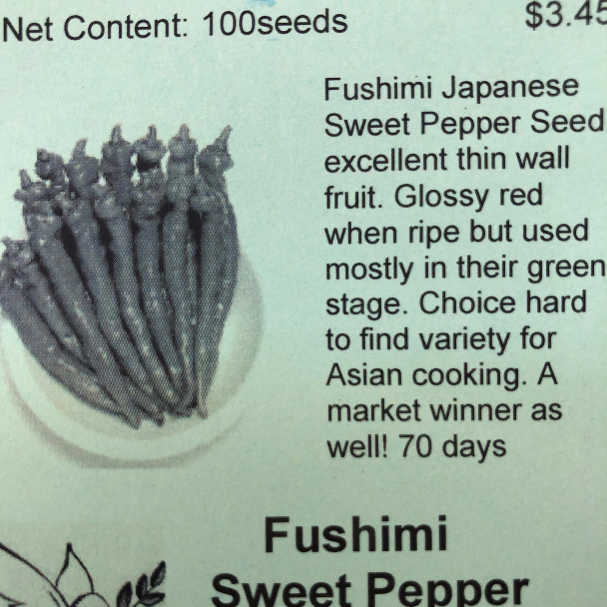 Pepper, Fushimi Sweet