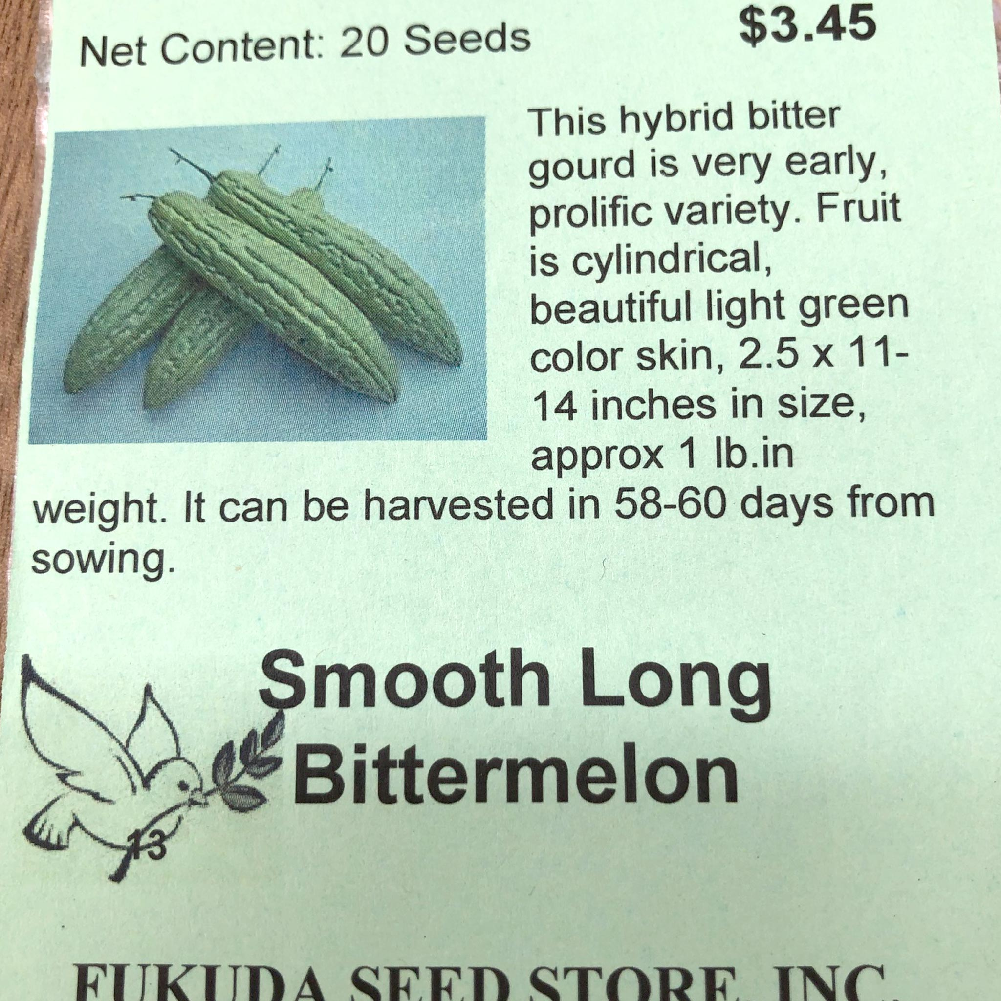 Bittermelon, Smooth Long
