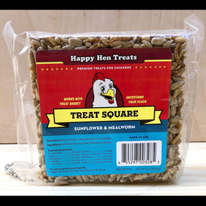 Treat Square: Sunflower and Mealworm