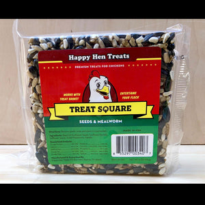 Treat Square: Seeds and Mealworm