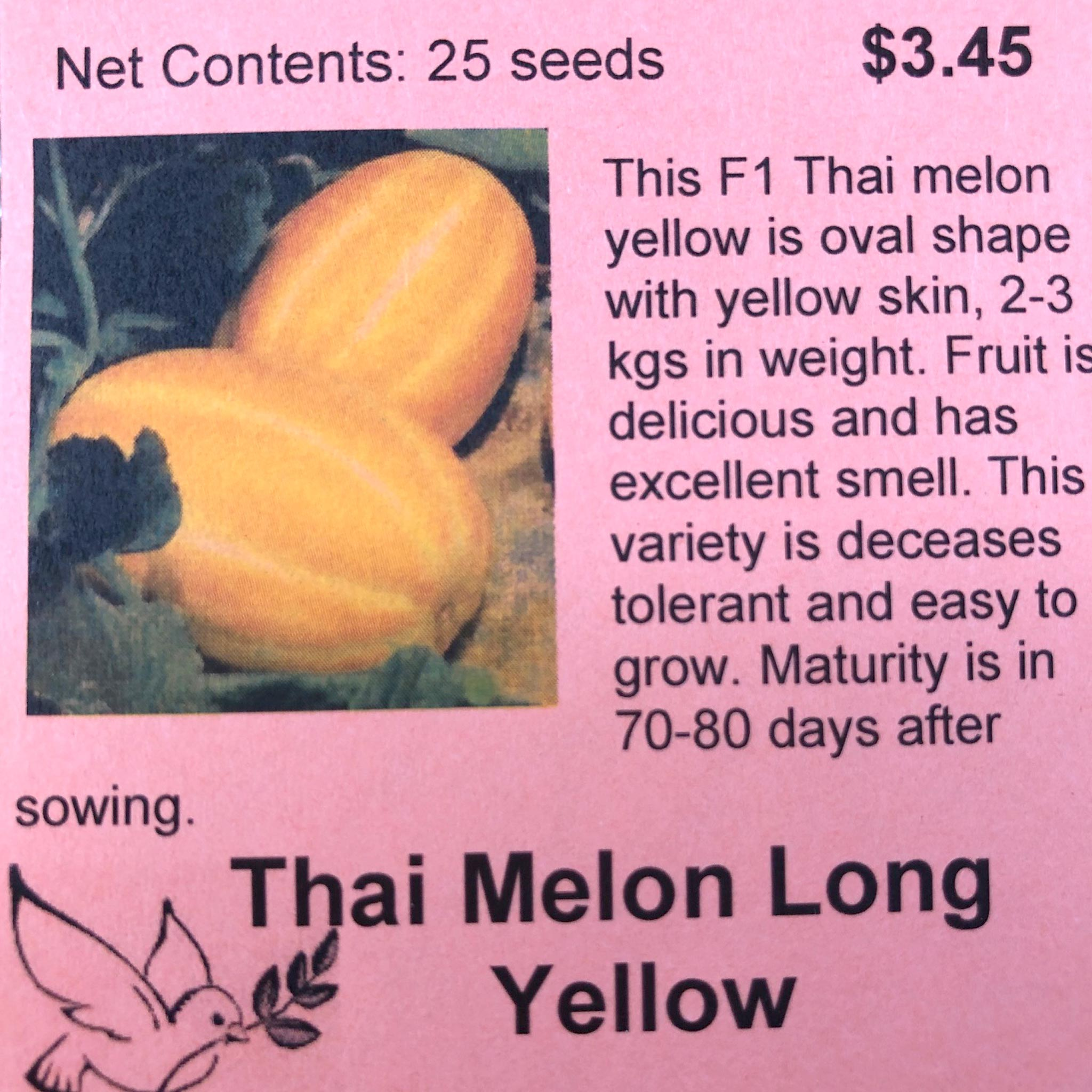 Melon, Thai Long Yellow