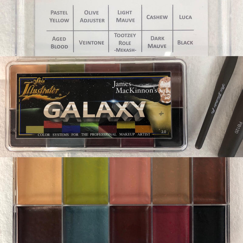 Skin Illustrator James Mackinnon's Galaxy Palette