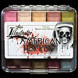 Skin Illustrator On Set Eryn Krueger Mekash's American Horror Palette