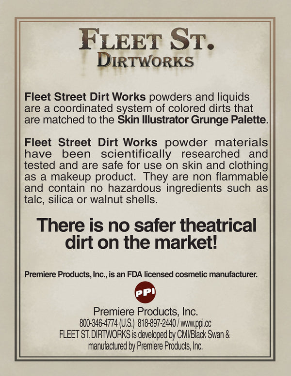Fleet Street Dirtworks Powders