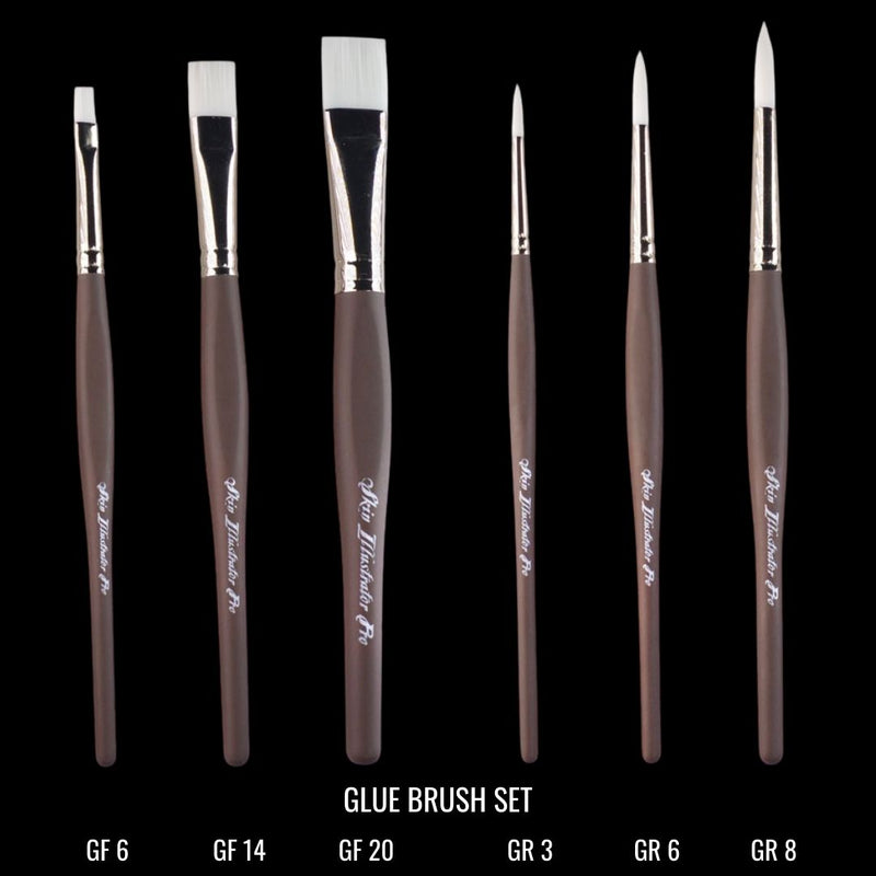 Pro Brushes - Glue Brush Set