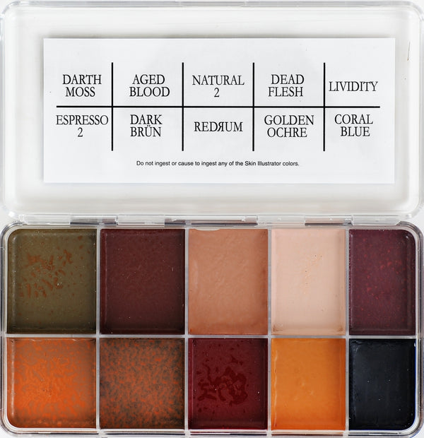 Skin Illustrator Lost Palette