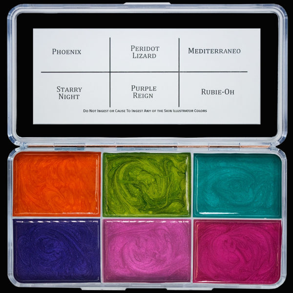 Skin Illustrator Nova 6 Palette - Limited edition.  While supplies last