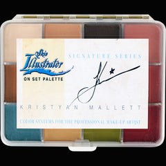 Skin Illustrator On Set Signature Series Kristyan Mallett Palette