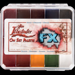 Skin Illustrator On Set FX Palette