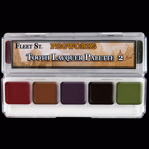 Fleet St. Pegworks Tooth Lacquer Palette 2