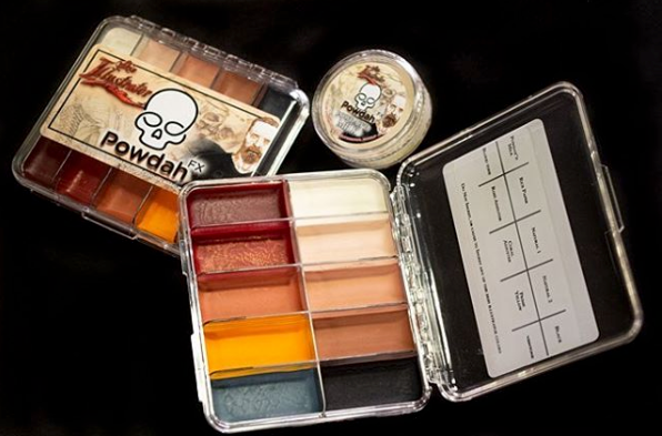 Skin Illustrator Powdah On Set Palette
