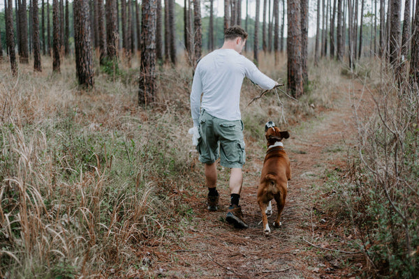 Hitting the Trails with Man's Best Friend: Safely