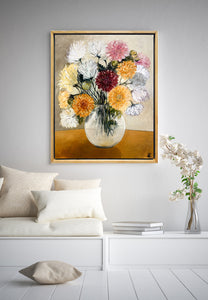 Chrysanthemum Kiss - LIMITED EDITION PRINTS