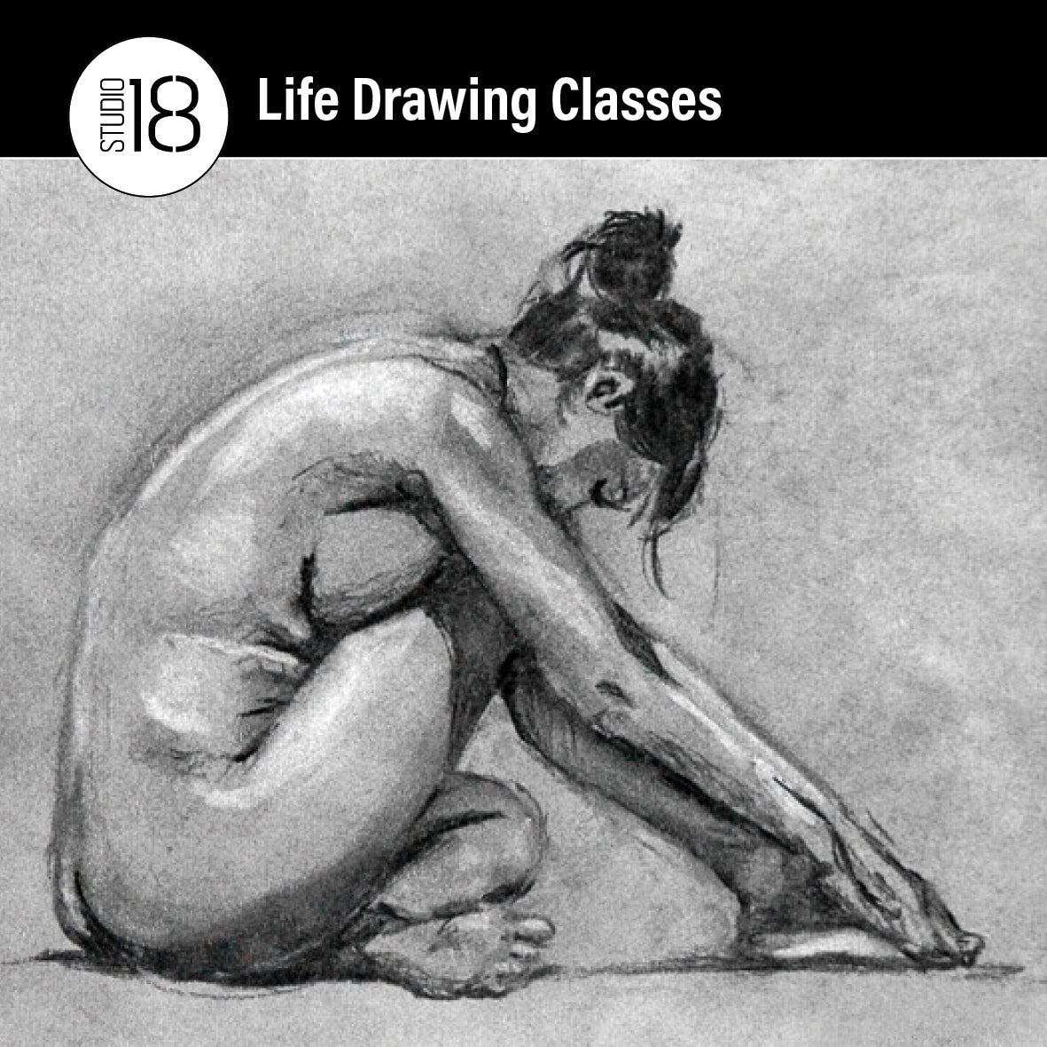 Life Drawing Classes. On the First Thursday of the Month from 6:30 to 9:00pm