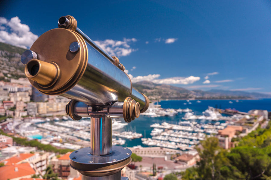 One of the most famous locations on the French Riviera is the glamorous principality of Monaco