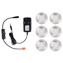Load image into Gallery viewer, 1600lm 3000K Warm White Super Bright LED Puck Light for Kitchen Closet 6PCS