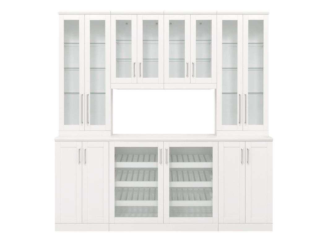 Home Bar 8 Piece Cabinet Set - 21