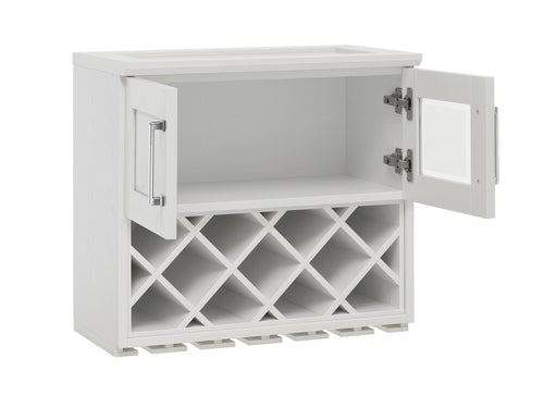 Home Bar Wall Wine Rack Cabinet - 24