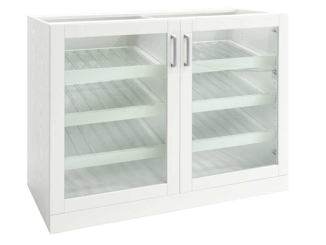 Home Bar Double Display Cabinet - 42