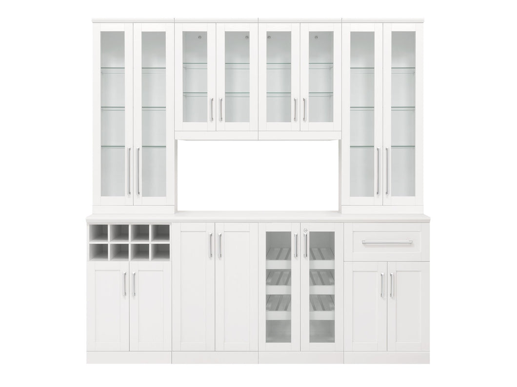 Home Bar 9 Piece Cabinet Set - 21