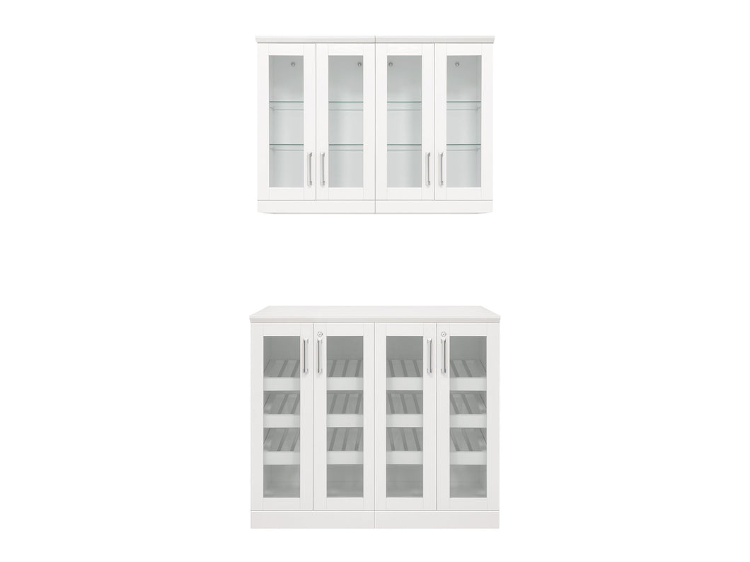 Home Bar 5 Piece Cabinet Set - 21