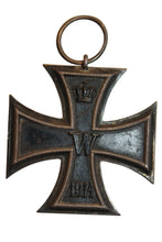 Load image into Gallery viewer, SALE Vintage German Imperial 1914 Iron Cross #2 (727HWS-C)