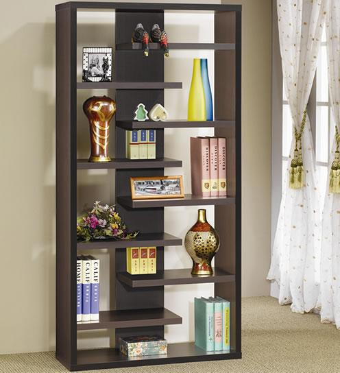 Cappuccino Display Cabinet / Bookcase