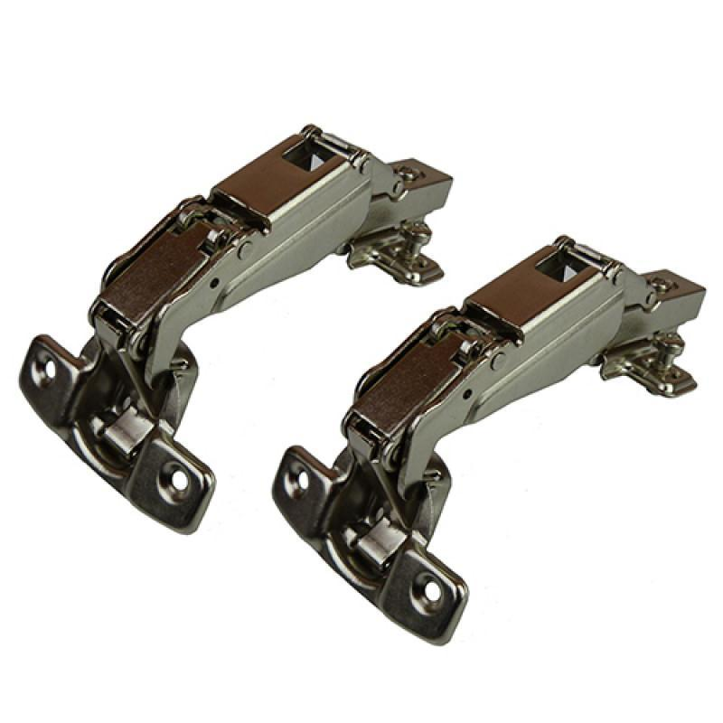 Clip On Full Overlay Hinge - 165 Deg - 18mm Side