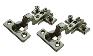 Inset Mini Door Hinge - 95 Deg