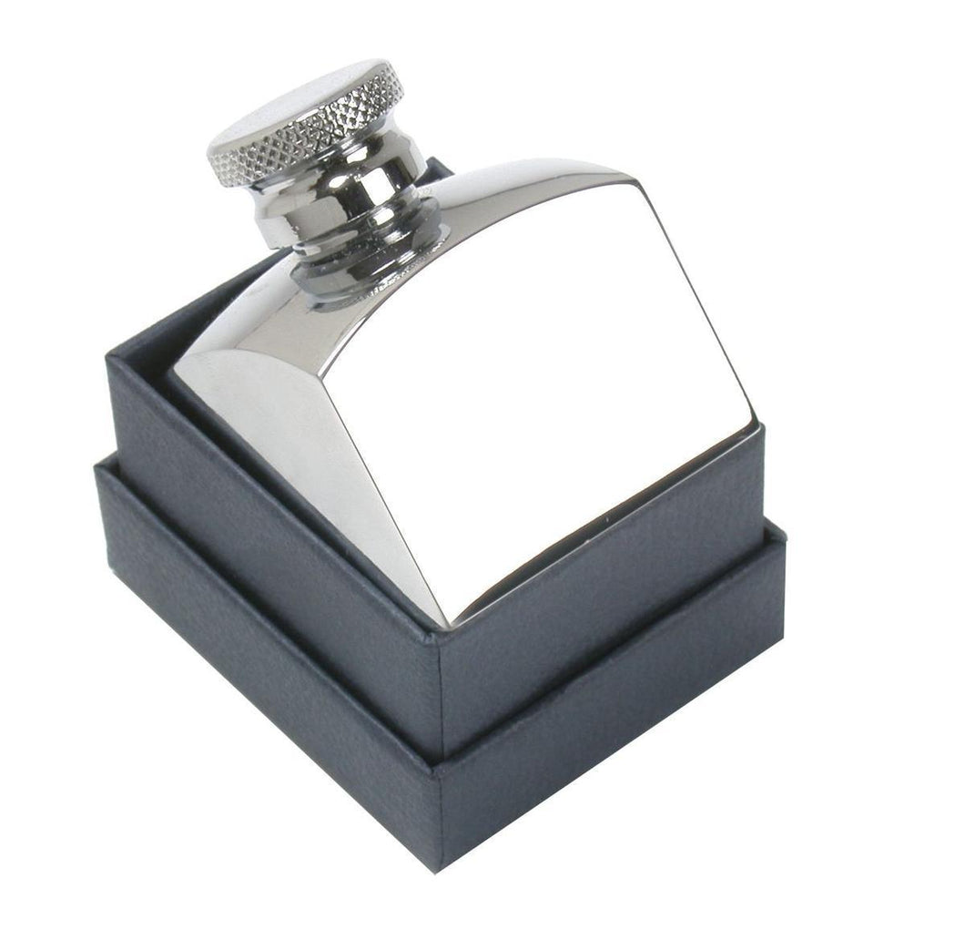 Square Oil Bottle Nickel