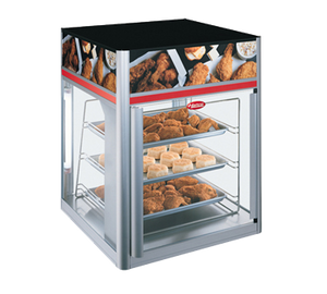 Hatco FSD1X Flav-R-Savor® holding & display cabinet , (1) door, (3) tier pan rack without motor, 1440w, cULus, UL EPH Classified, ANSI/NSF 4, Made in USA