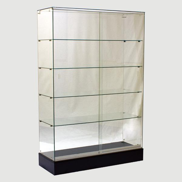 Retail Display Cabinets Frameless -48(L) x  18(W) x 72(H) - Inch