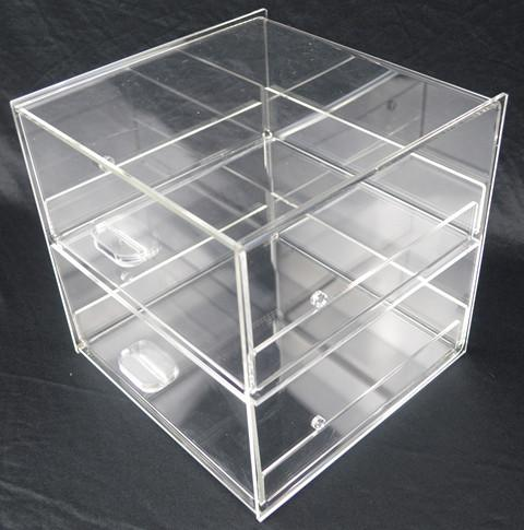 Cake Bakery Muffin Donut Pastry 5mm Acrylic Display Cabinet