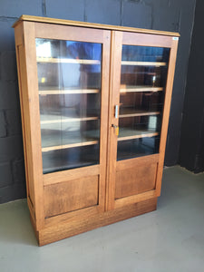 Vintage Glass Front Display Cabinet