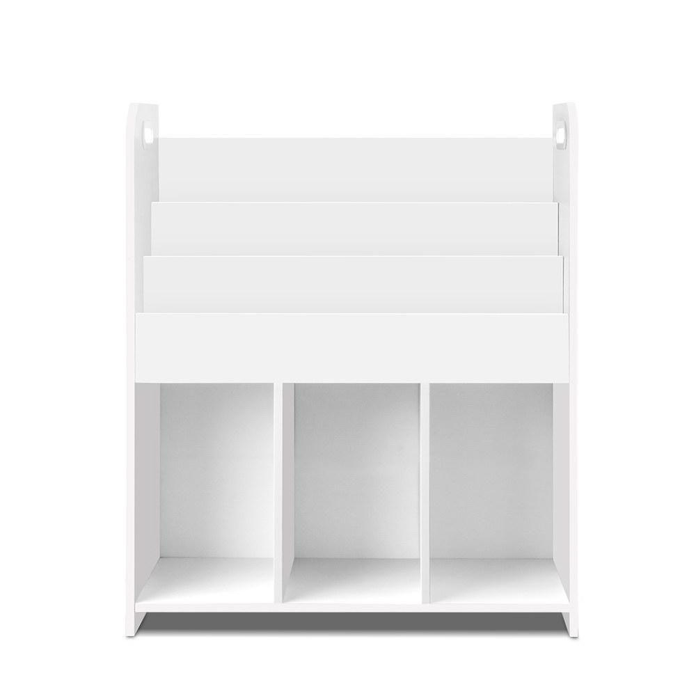 Artiss Kids Bookshelf Children Bookcase Display Cabinet 3 Tiers