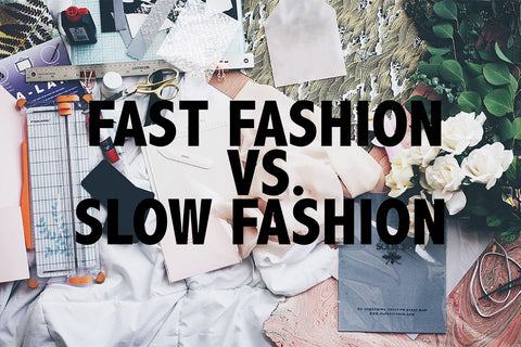 Fast fashion VS slow fashion - Mazonia