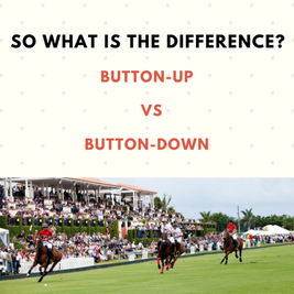 The public has been gagging for answers: Button-Up or Button-Down?