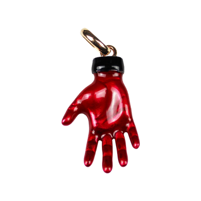 THE RED HAND CHARM