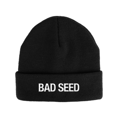 BAD SEED EMBROIDERED BEANIE