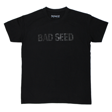 BAD SEED BLACK VINYL T-SHIRT