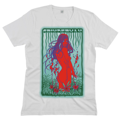 GRINDERMAN WHITE MENS T-SHIRT