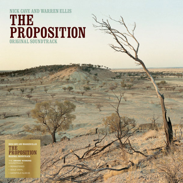 THE PROPOSITION OST (GOLD VINYL)