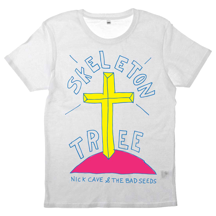 SKELETON TREE WHITE T-SHIRT