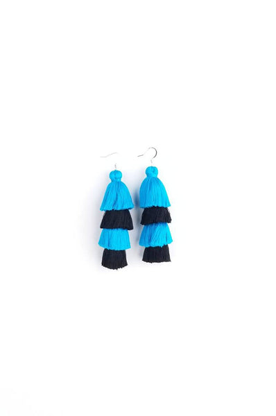 Carolina Panthers Earrings