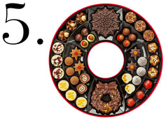 The Chocolate Christmas Wreath Box by Hotel Chocolat
