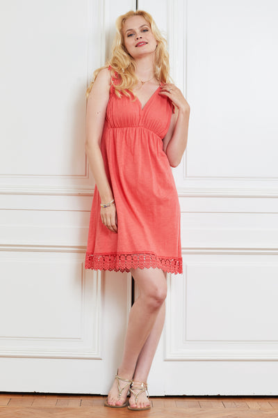 Dress Carla red - LOVE MILK