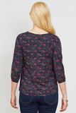 Blouse Ginger ditsy floral - LOVE MILK
