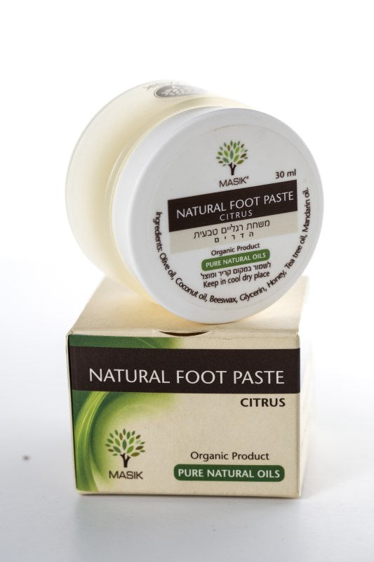 Masik Foot Cream, 100% Natural. with coconut & olive oil