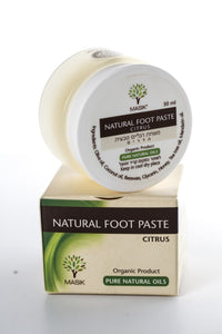 Natural Foot Cream with olive oil & essential oils for dry skin- MASIK